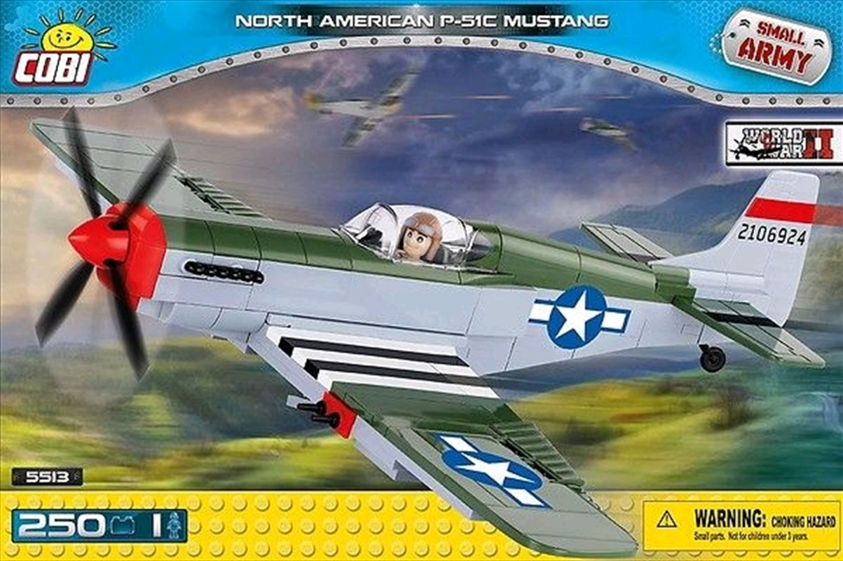 Small Army - 250 piece North American P-51C Mustang | Miscellaneous