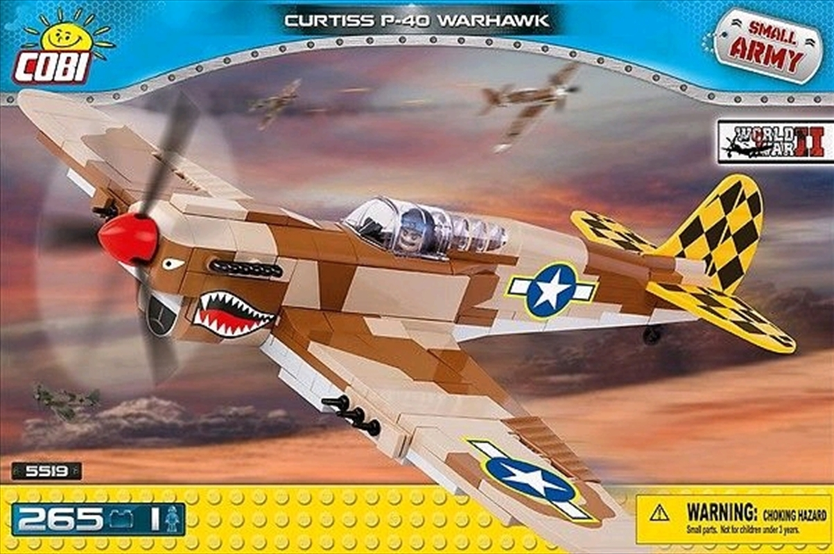 Small Army - 265 piece Curtiss P40K Warhawk | Miscellaneous