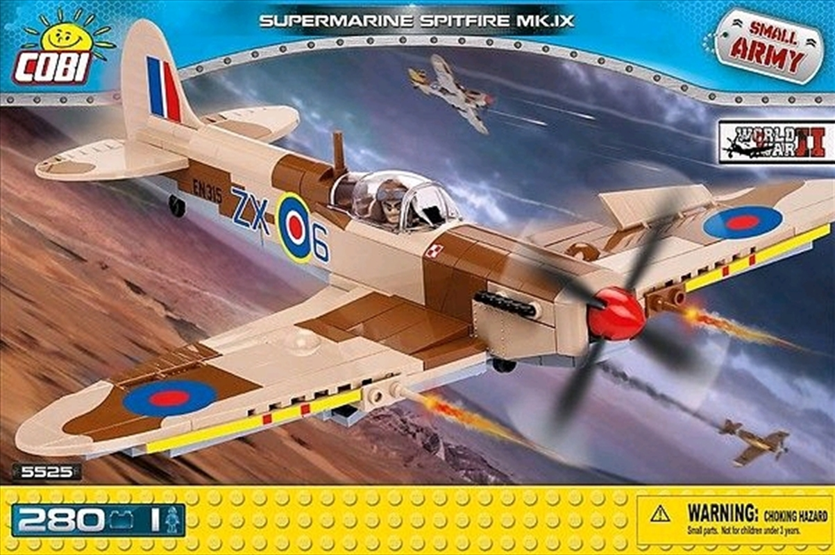 Small Army - 280 piece Supermarine Spitfire Mk IX | Miscellaneous