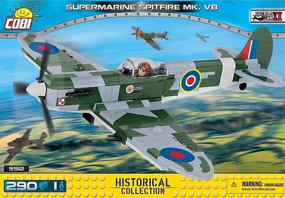 World War II - 290 piece Supermarine Spitfire Mk. VB | Miscellaneous