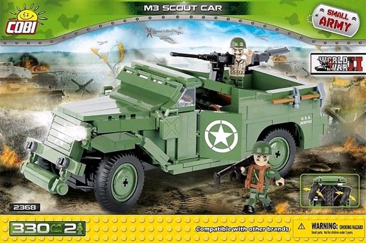 Small Army - 330 piece M3 Scout Car | Miscellaneous