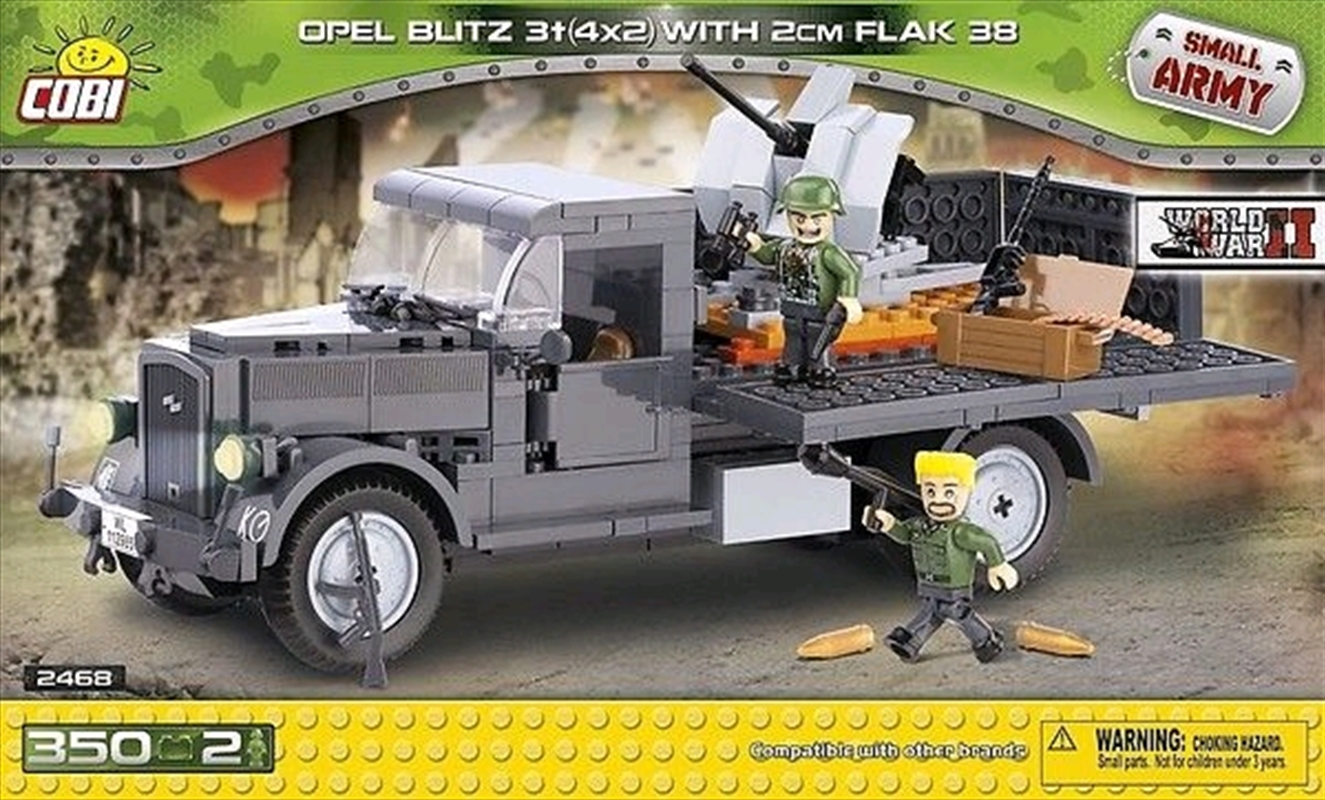 Small Army - 350 piece Opel Blitz 3t 4x2 with 2cm Flak | Miscellaneous