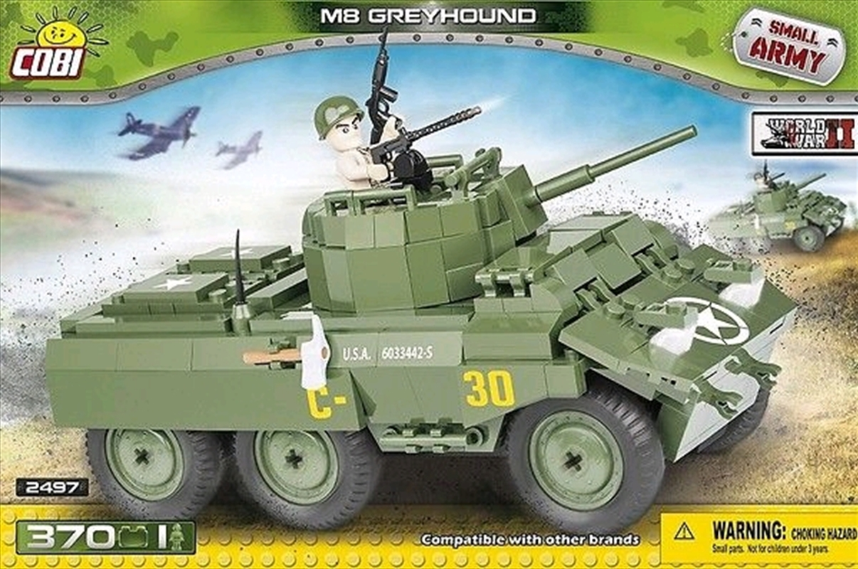 Small Army - 370 piece M8 Greyhound | Miscellaneous