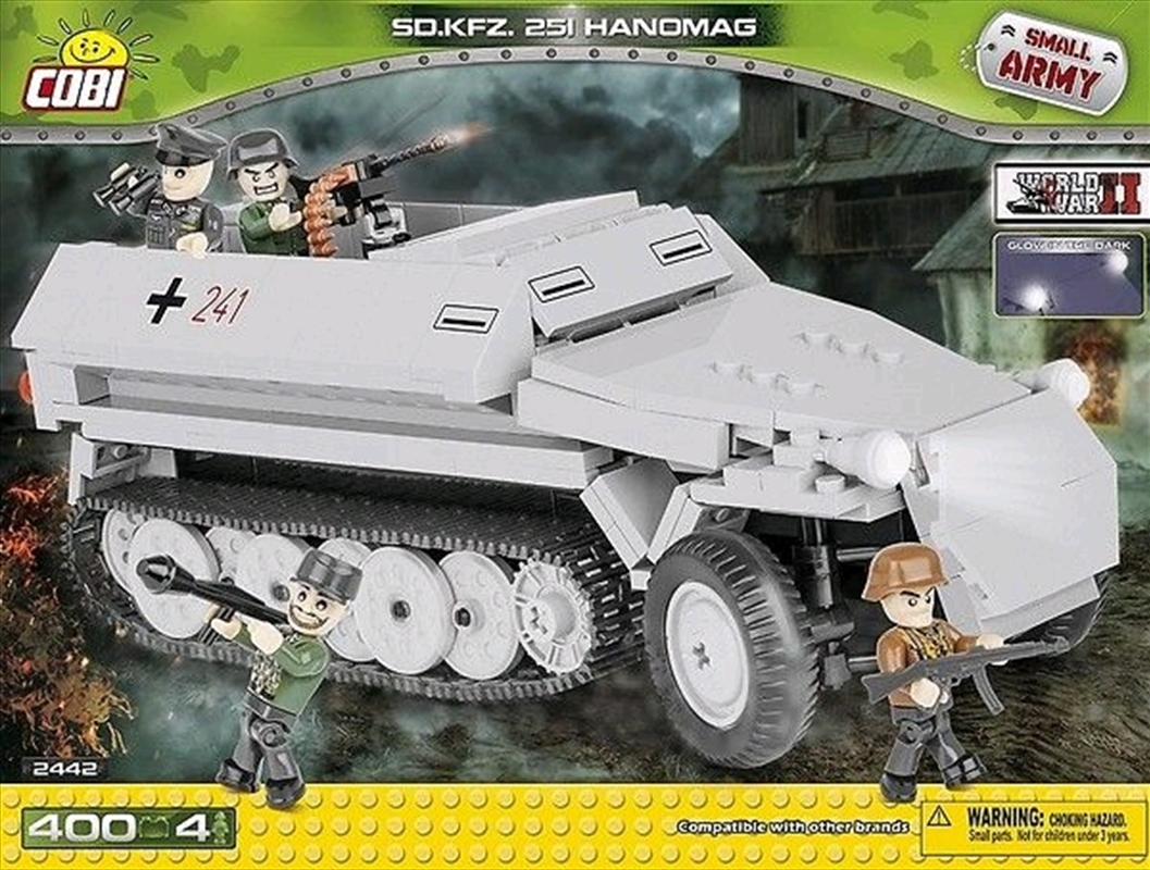 Small Army - 400 piece Sd.Kfz.251 Hanomag | Miscellaneous