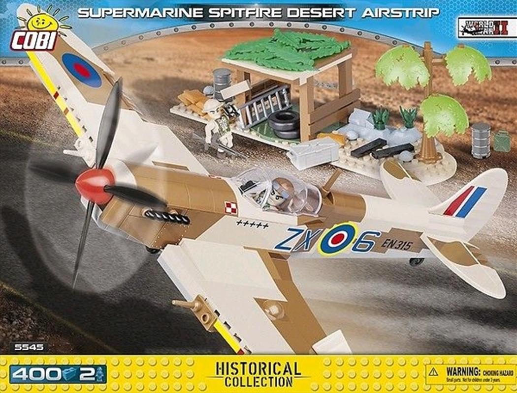 World War II - 400 piece Supermarine Spitfire Desert Airstrip   Miscellaneous