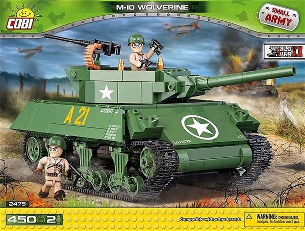 Small Army - 450 piece M-10 Wolverine (450 pcs) | Miscellaneous