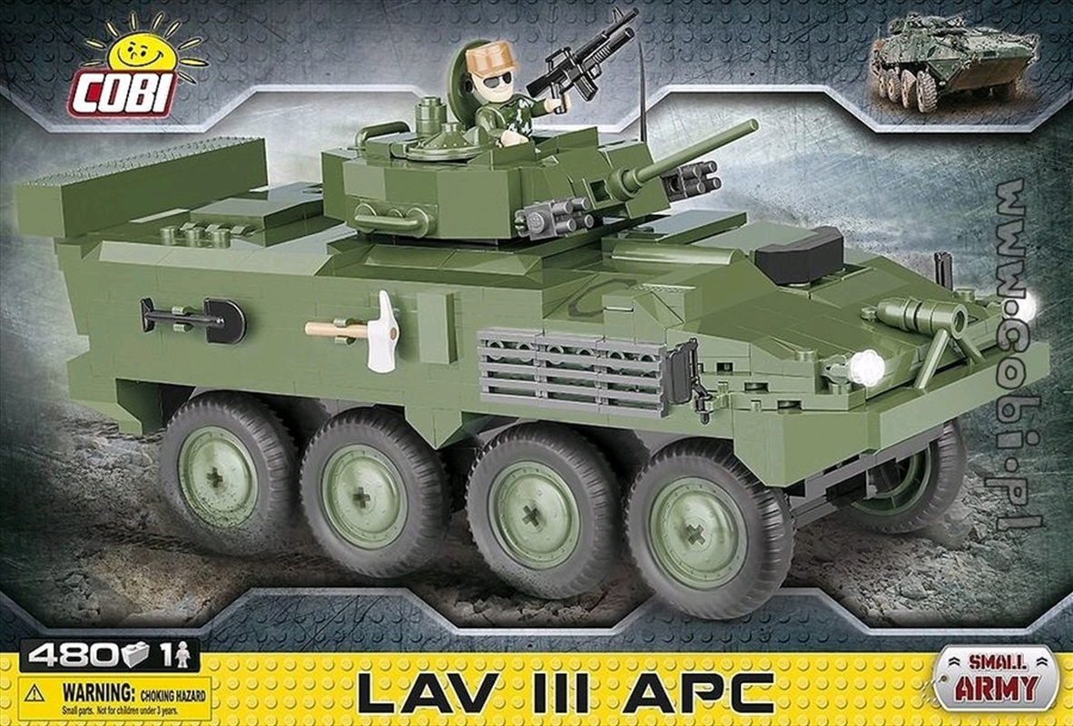 Small Army - 480 piece LAV III APC-Light | Miscellaneous