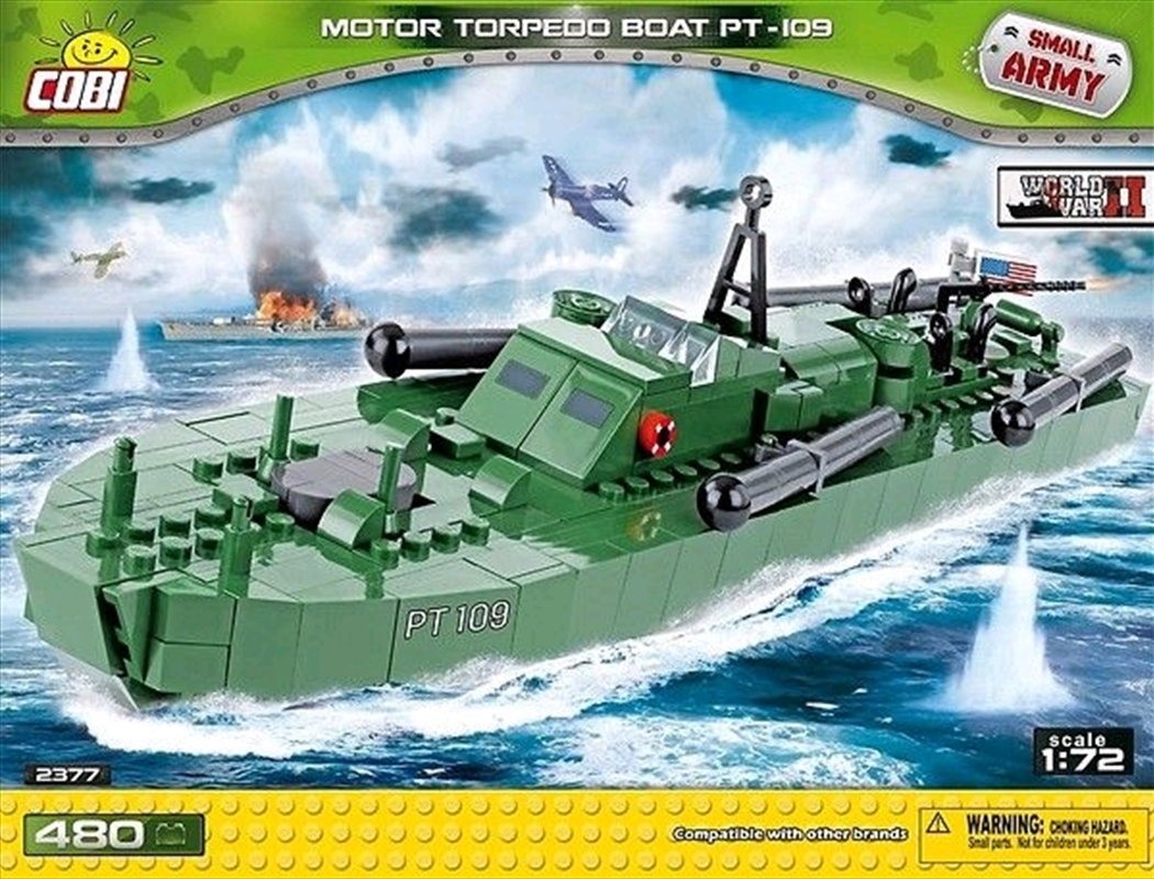 Small Army - 480 piece Motor Torpedo Boat PT-109 | Miscellaneous