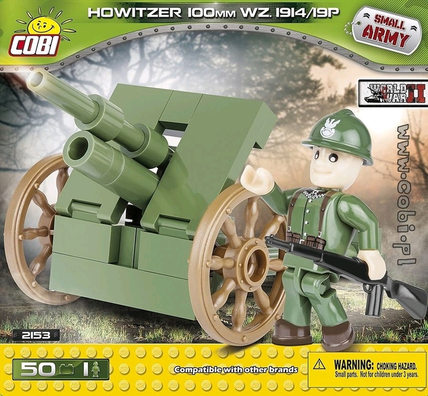 Small Army - 50 piece Howitzer 100mm WZ.1914/19P | Miscellaneous