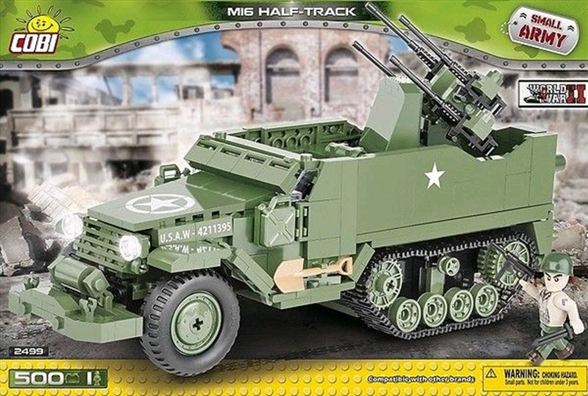 Small Army - 500 piece M16 Half-Track | Miscellaneous