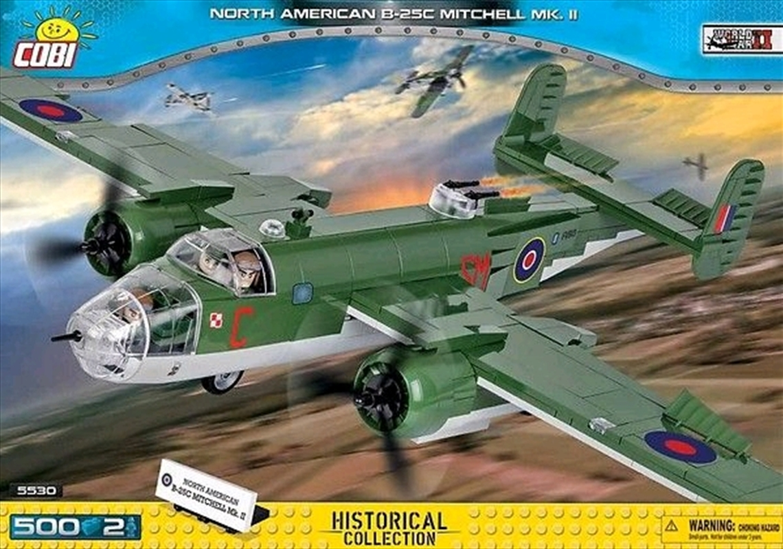 Small Army - 500 piece North American B-25C Mitchell Mk II | Miscellaneous