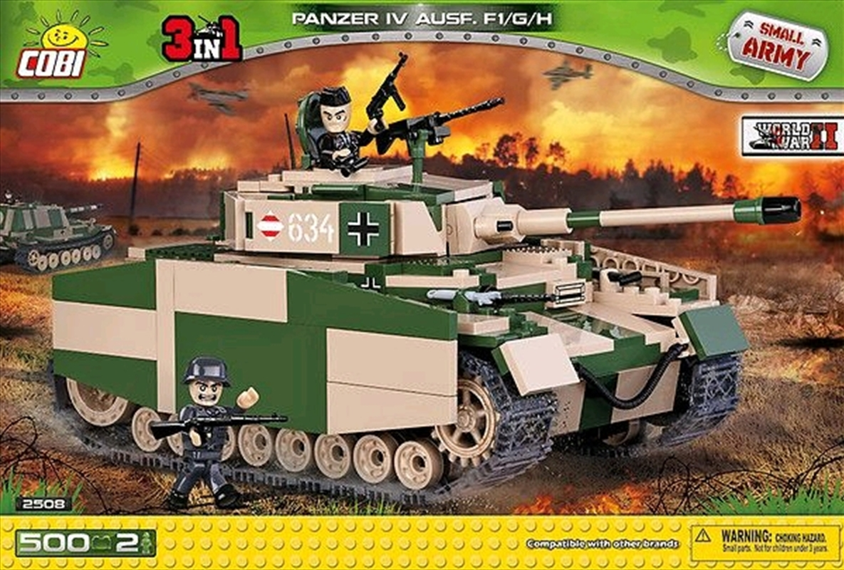 Small Army - 500 piece Panzer IV Ausf.F1/G/H | Miscellaneous