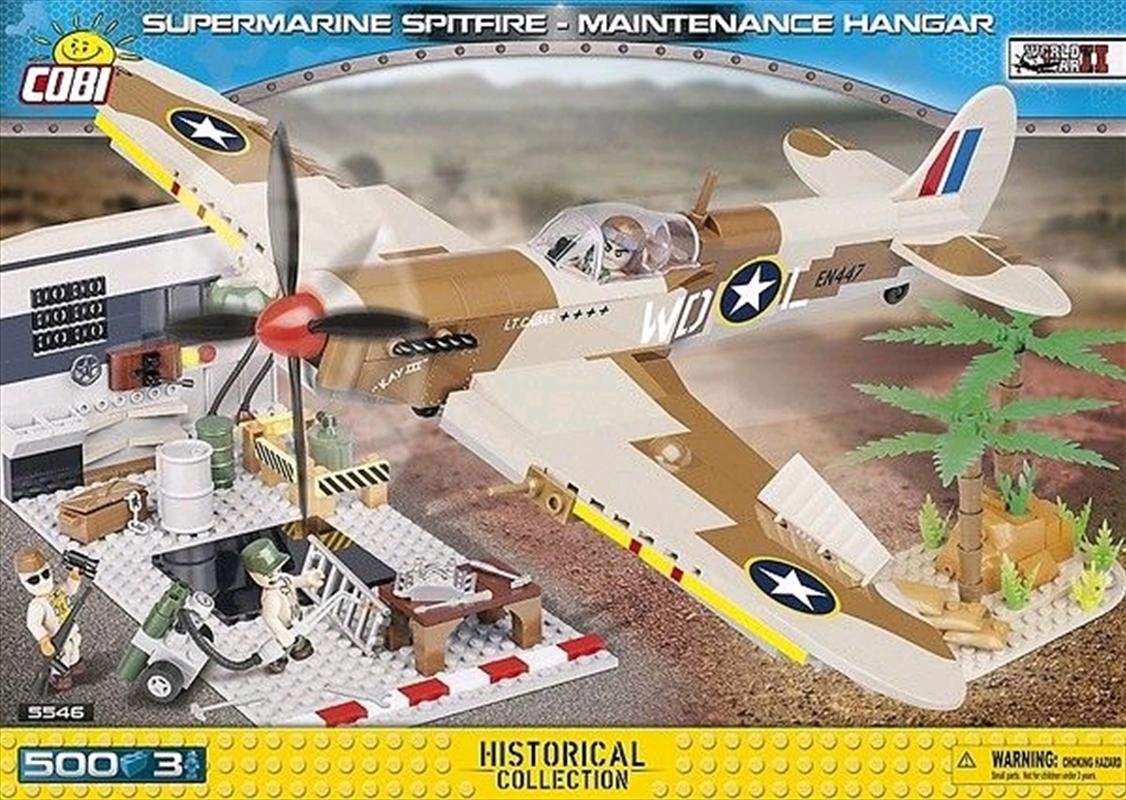 World War II - 500 piece Supermarine Spitfire Maintenance Hangar | Miscellaneous