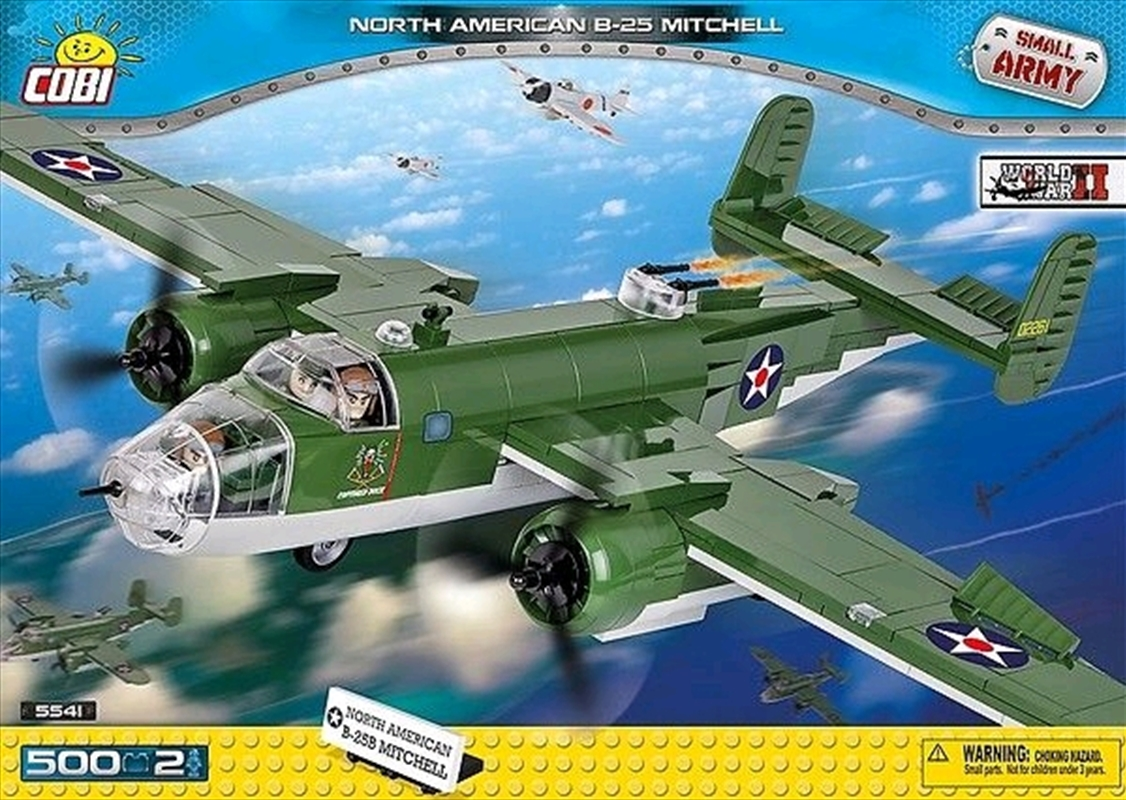 Small Army - 500 piece North American B-25 Mitchell | Miscellaneous