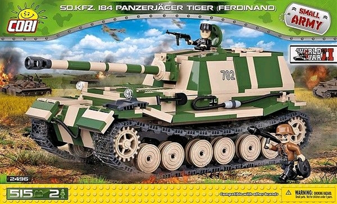 Small Army - 515 piece Sd.Kfz.184 Panzerjager Tiger (Ferdinand) | Miscellaneous