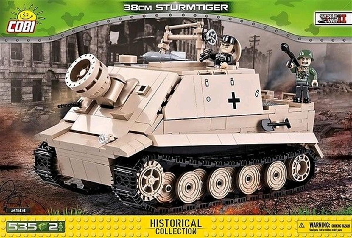 World War II - 535 piece 38cm Sturmtiger | Miscellaneous