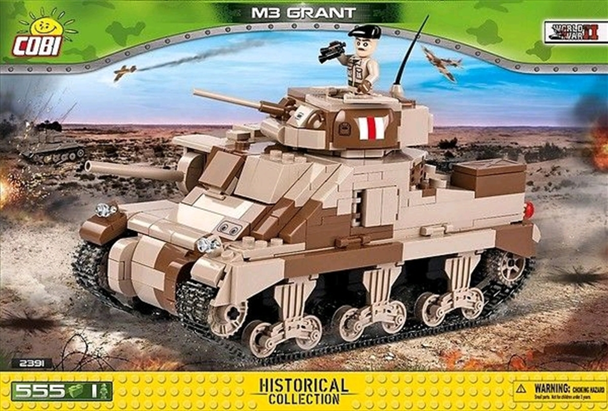 World War II - 550 piece M3 Grant Medium Tank   Miscellaneous