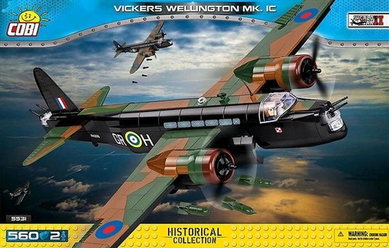 Small Army - 560 piece Vickers Wellington Mk 1C | Miscellaneous