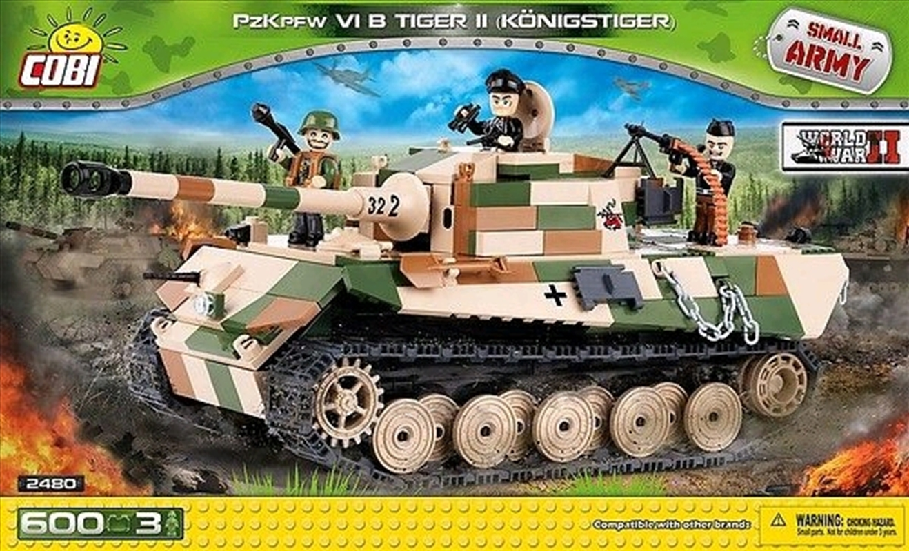 Small Army - 600 piece PzKpfw VI B Tiger II (Konigstiger) | Miscellaneous