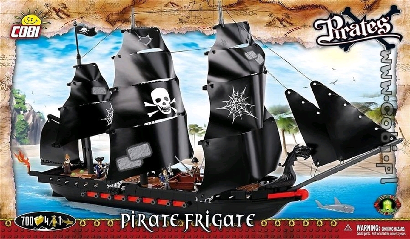 Pirates - 700 piece Pirate Frigate   Miscellaneous