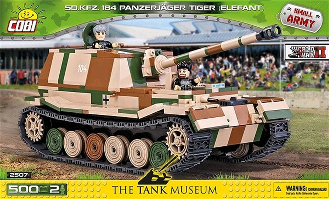 Small Army - 500 piece Sd.Kfz.184 Panzerjager Tiger (Elefant) | Miscellaneous