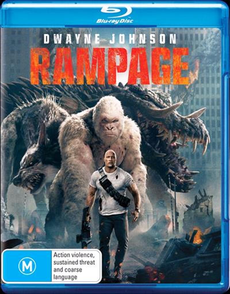 Rampage | Blu-ray