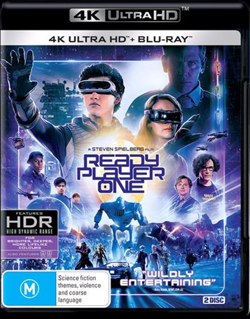Ready Player One | Blu-ray + UHD | UHD