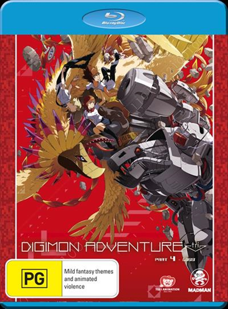 Digimon Adventure Tri.  - Loss - Part 4 | Blu-ray