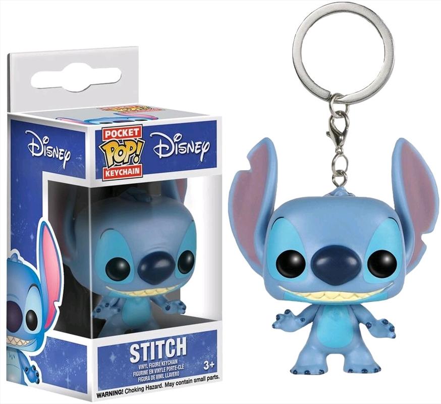 Lilo & Stitch - Stitch Pocket Pop! Keychain | Pop Vinyl