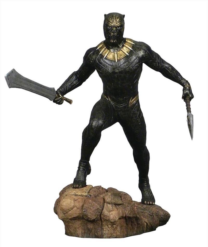 Marvel Gallery - Black Panther Killmonger PVC Diorama | Merchandise
