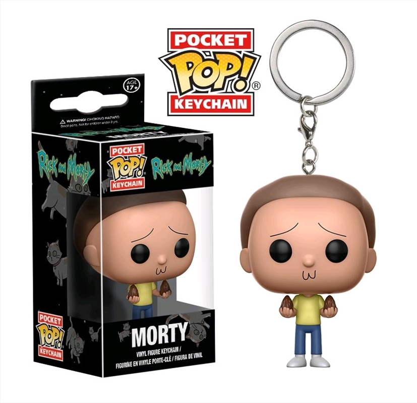 Rick and Morty - Morty Pocket Pop! Keychain | Pop Vinyl