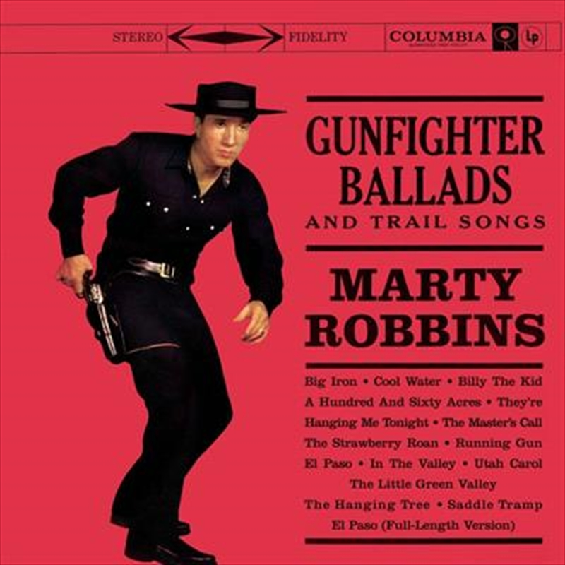 Gunfighter Ballads And Trail Songs - Gold Series   CD