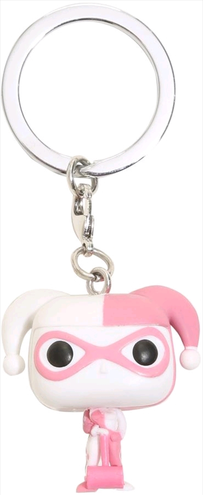Batman - Harley Quinn Pink US Exclusive Pocket Pop! Keychain | Pop Vinyl
