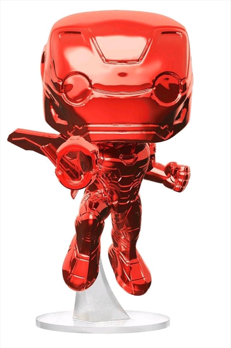Avengers 3: Infinity War - Iron Man Red Chrome US Exclusive Pop! Vinyl   Pop Vinyl
