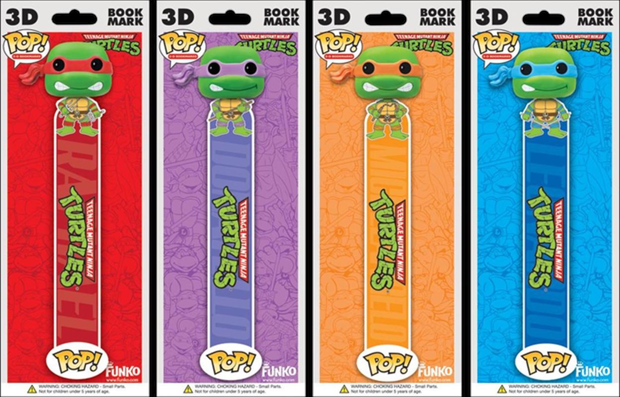 Teenage Mutant Ninja Turtles - 3D Bookmark Assortment   Miscellaneous
