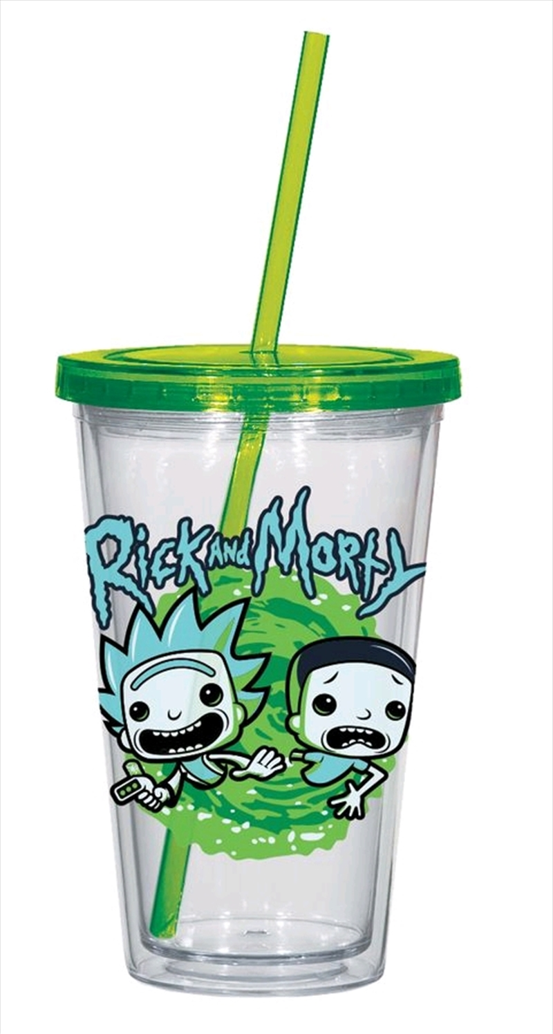 Rick and Morty - Rick and Morty Acrylic Cup | Merchandise