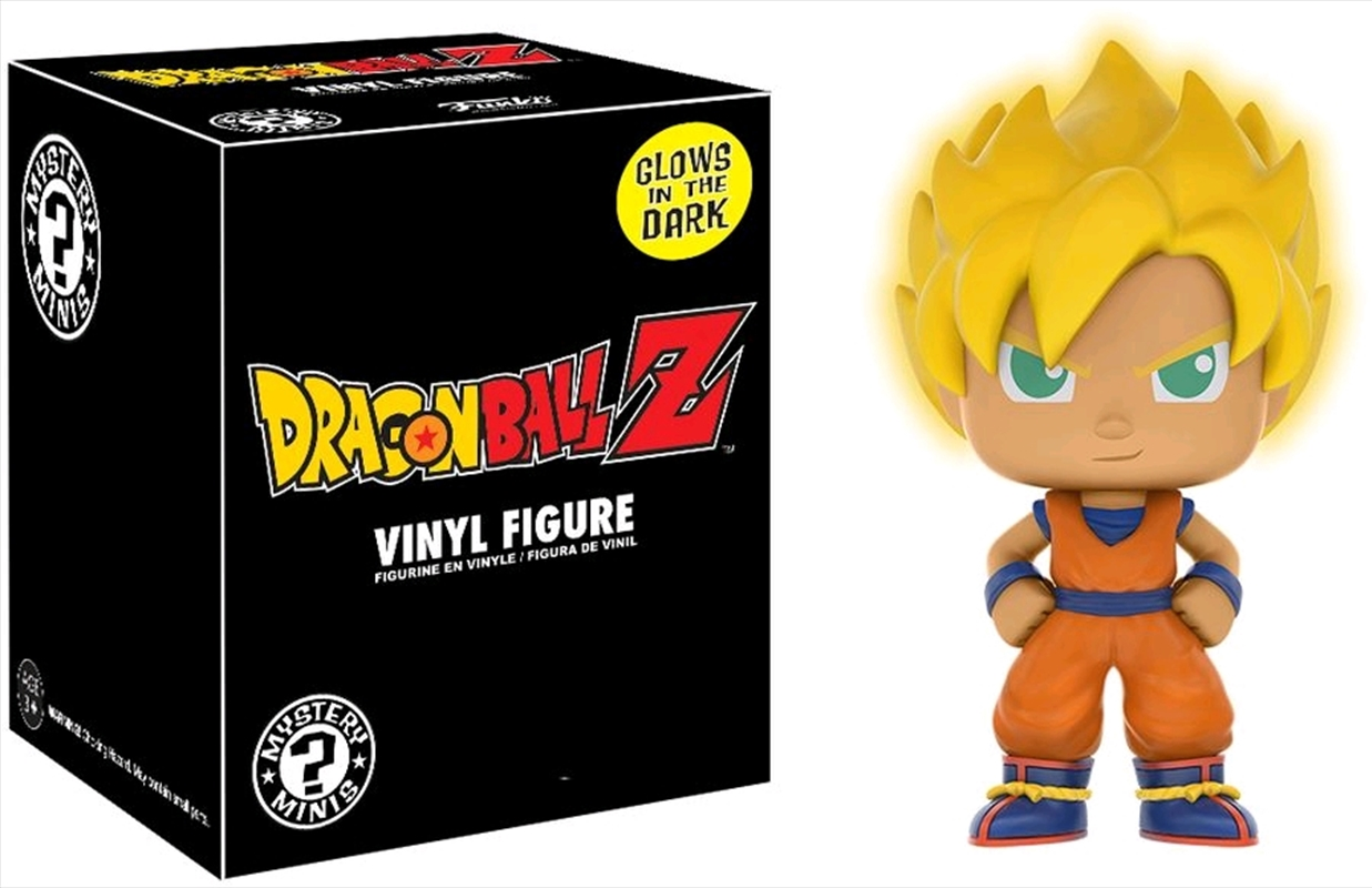 Dragon Ball Z - Goku Glow US Exclusive Mystery Minis (Single Unit) | Merchandise