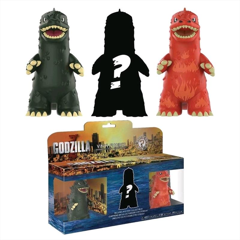 Godzilla - Mystery Mini 3-pack   Merchandise
