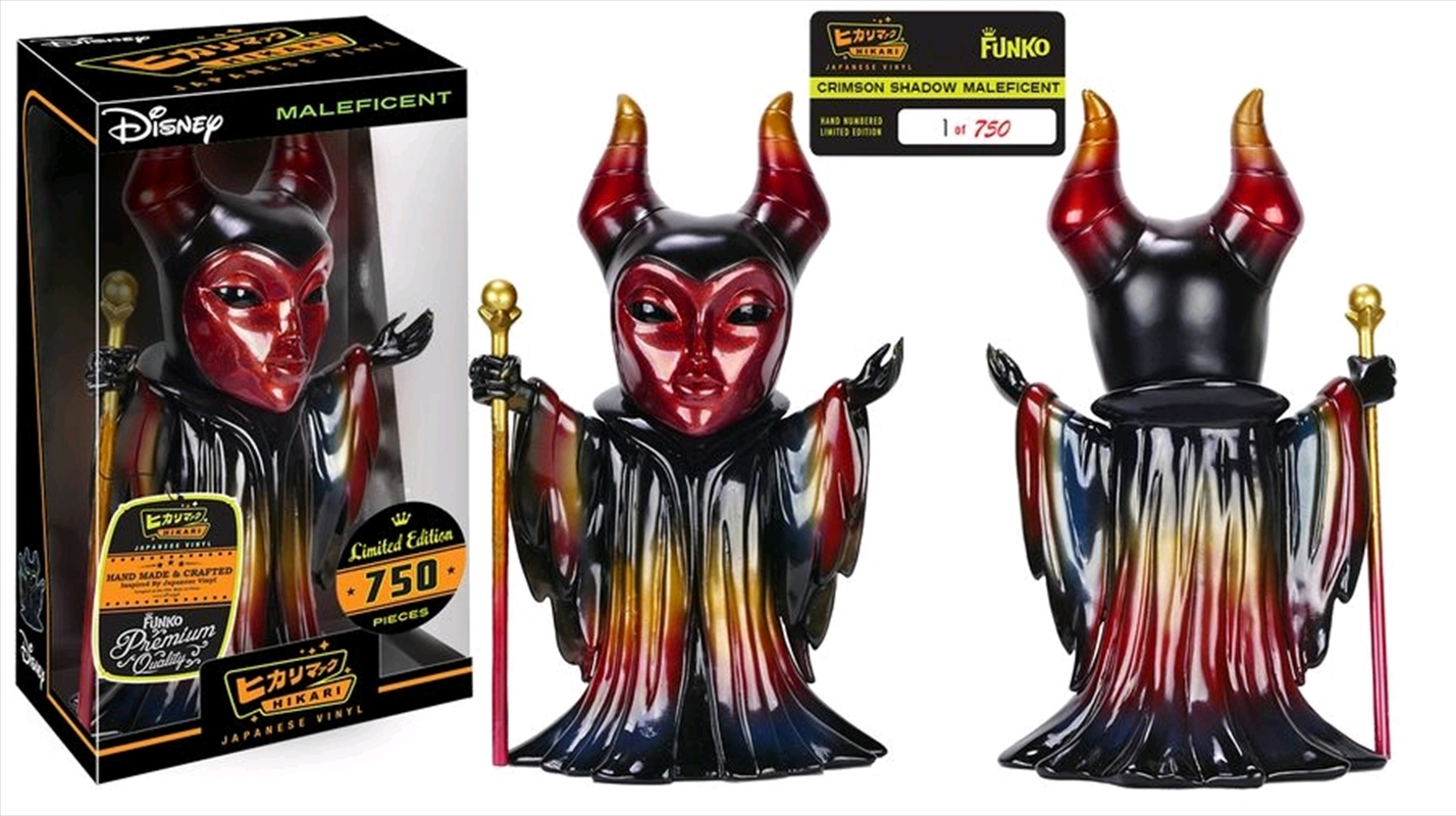 Maleficent - Crimson Shadow Hikari Figure   Merchandise