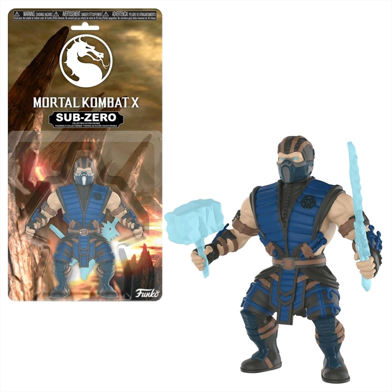 Mortal Kombat X - Sub-Zero Savage World Action Figure | Merchandise