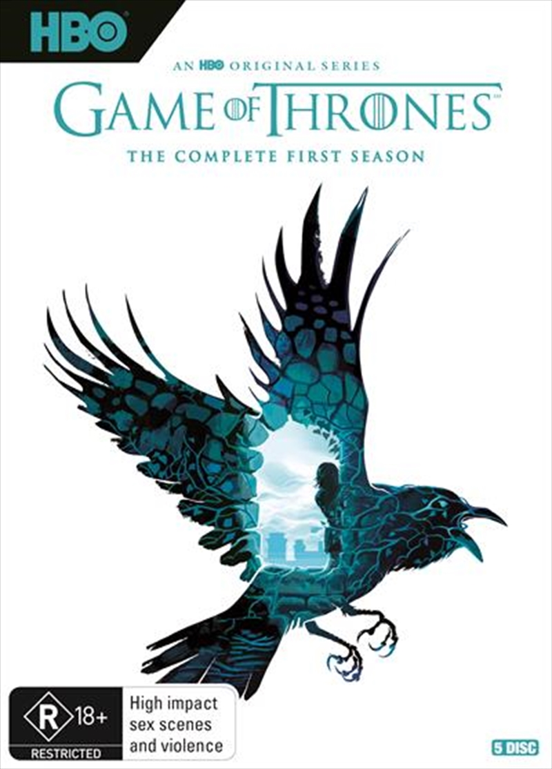 Game Of Thrones - Season 1 - Limited Edition | Robert Ball Artwork | DVD