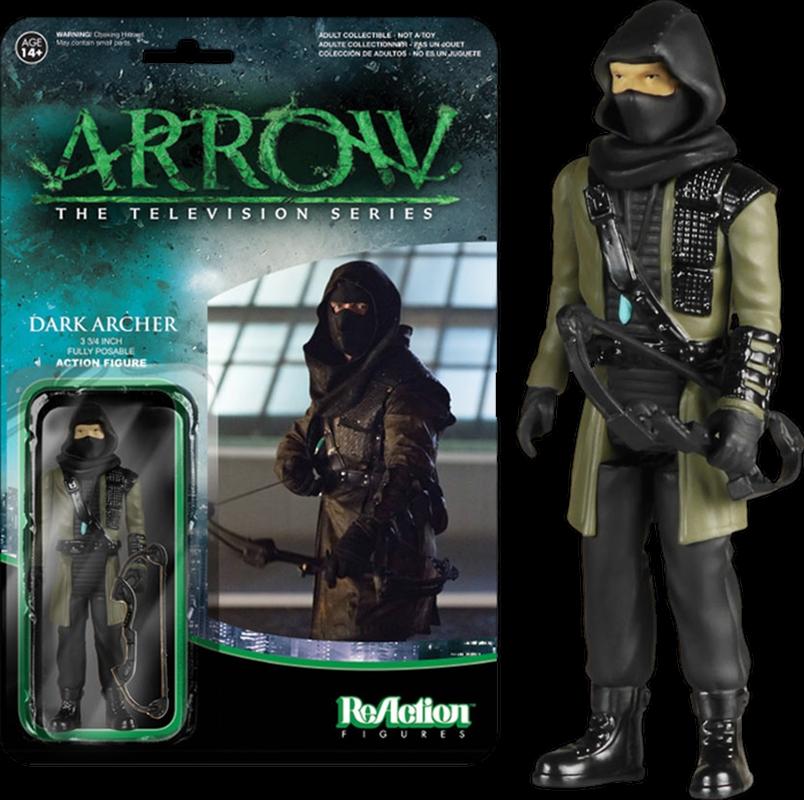 Arrow - Dark Archer ReAction Figure   Merchandise