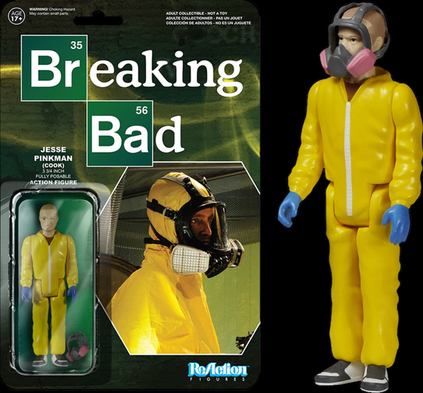 Breaking Bad - Jesse Pinkman (Cook) ReAction Figure | Merchandise