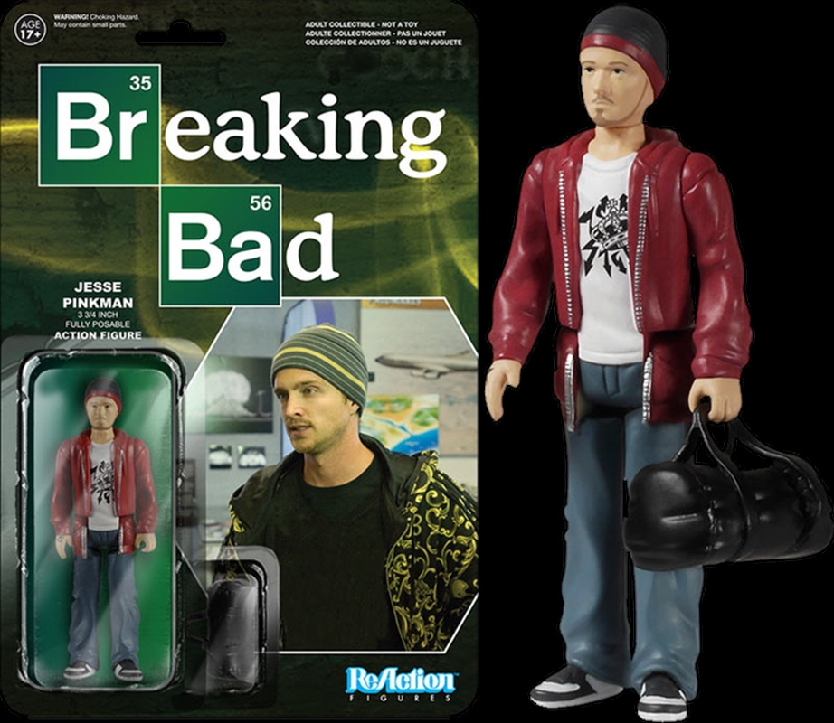 Breaking Bad - Jesse Pinkman ReAction Figure | Merchandise