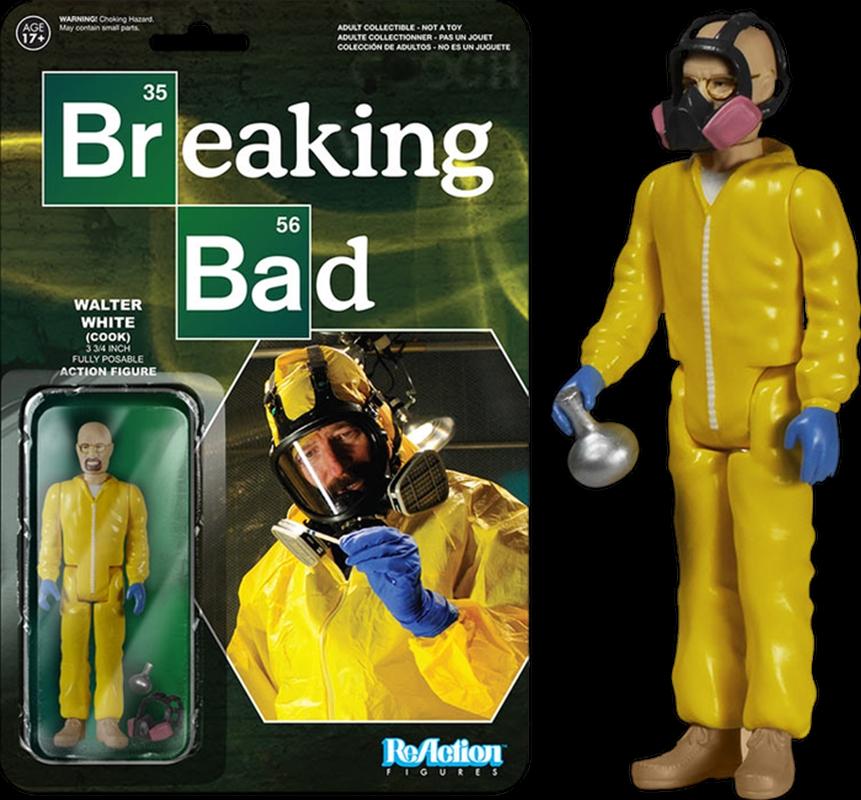 Breaking Bad - Walter White (Cook) ReAction Figure | Merchandise