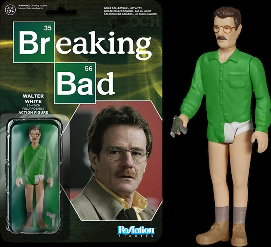 Breaking Bad - Walter White ReAction Figure | Merchandise