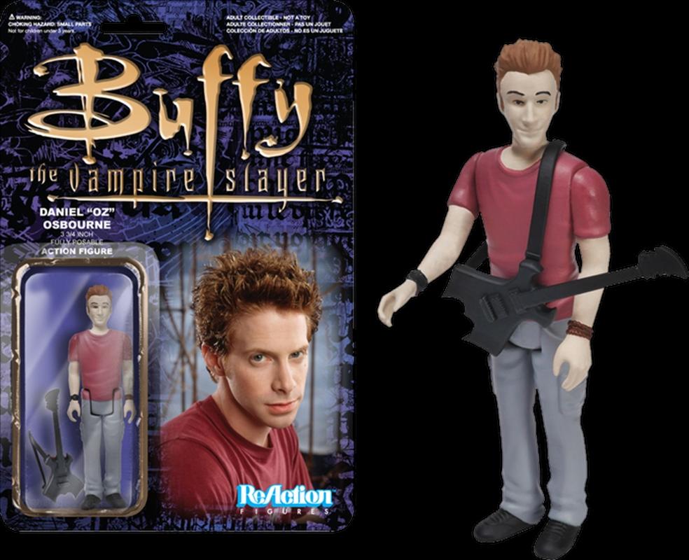 Buffy the Vampire Slayer - Oz ReAction Figure | Merchandise