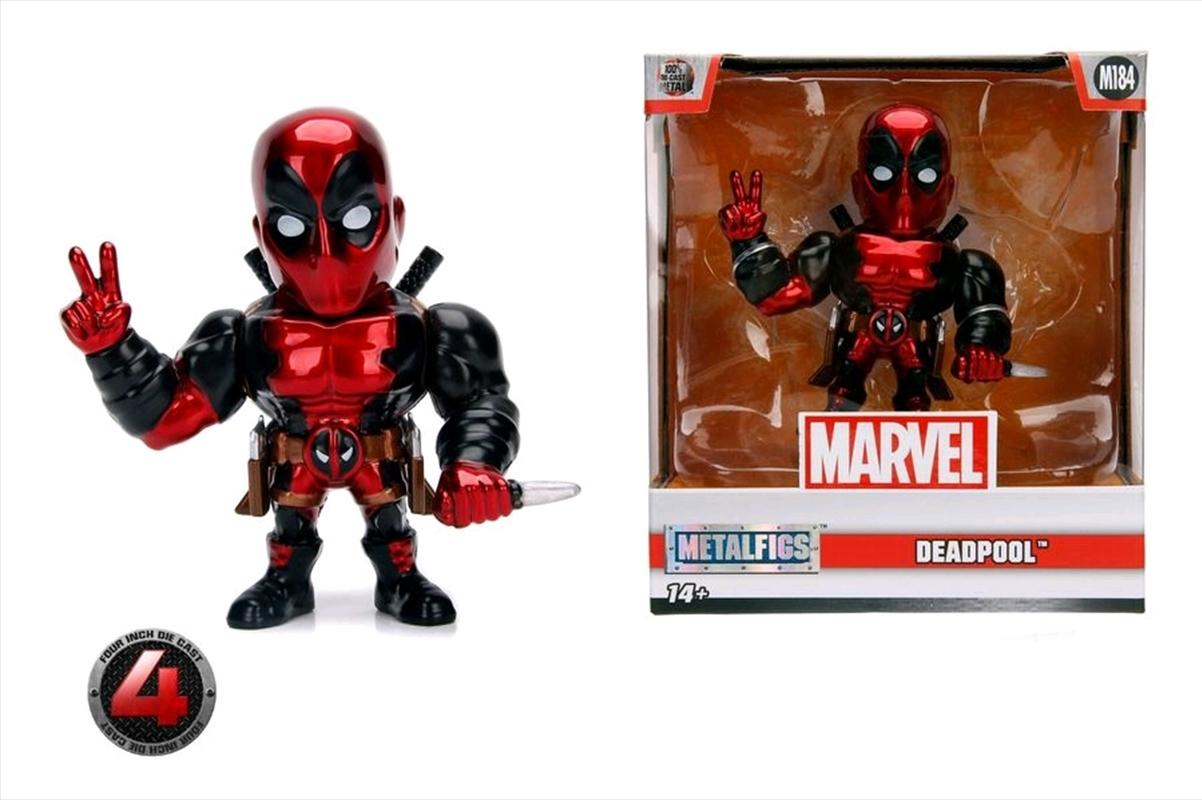 """Deadpool - Deadpool Red 4"""" Metals   Merchandise"""