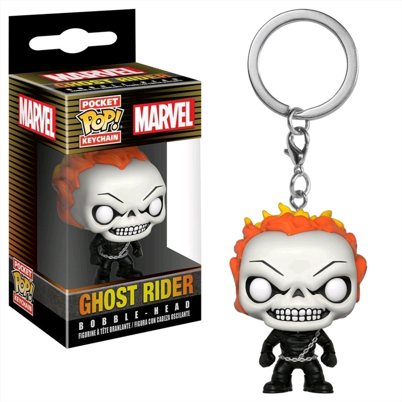 Agents of Shield - Ghost Rider Pop! Keychain | Accessories