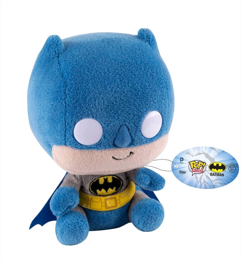 "Batman - Batman Pop! 6"" Plush Regular 